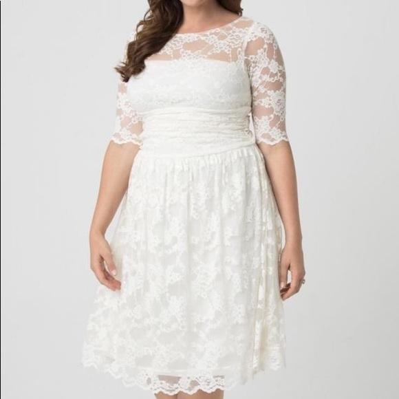 7e6bf4403047 Kiyonna Plus Wedding Dress